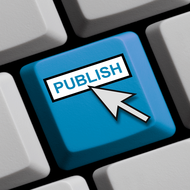 blue eCTD publishing services button